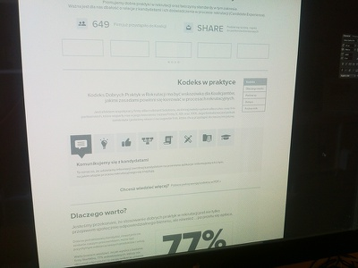Friendly recruitment mockup mockup wireframe ui ux interface draft website