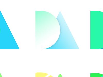Quick Initials Exploration id fun initials gradients explore
