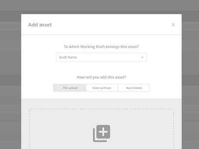 HiFi Wireframes wires upload form product admin ux hifi clean wireframes