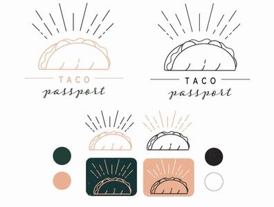 Taco Passport Logo + Branding Pack