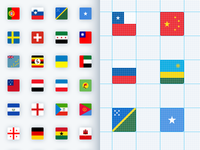 Pixel Perfect Flags... Live :)