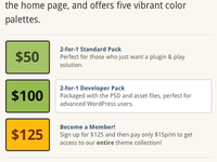 New Pricing Block