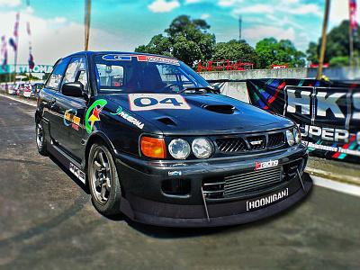 Race Car Aero Mockup photoshop automobile automotive motorsports cars aero real life race car racing