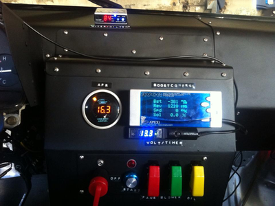 IRL User Interface :p racecar dashboard real switches panel irl