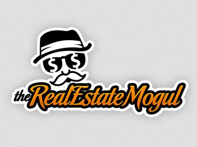 WIP: Mogul logo illustration branding webapp photoshop texture design mogul old man monopoly-ish real estate