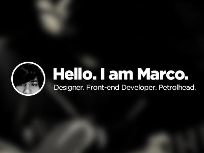 Ok... what now? wip portfolio redesign photoshop blur blah.