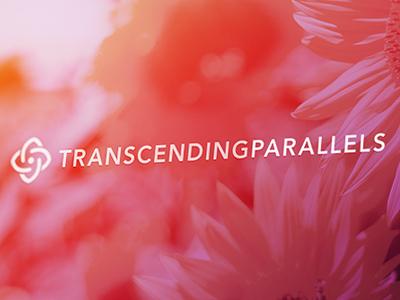 Transcending Parallels flower transcending parallels logo