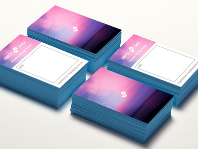 Yooper Steez Business Cards steez business cards photography bcards painted edge