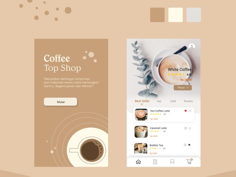 kopi2 ux ui illustration icon design app
