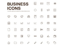Business Icons 48 icons