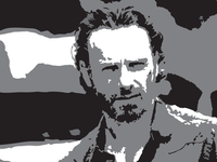 How to Vectorize Rick Grimes