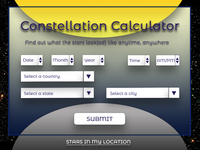 004 Constellation Calculator