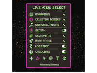 007 Settings for Map the Stars