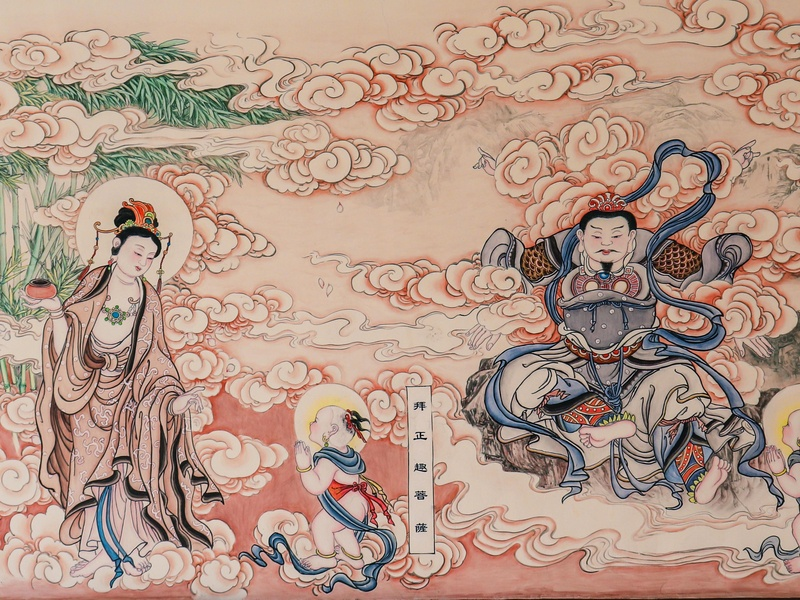 Buddhism china design chinaart illustration