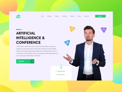 AI Conference Banner