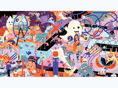 World Awards 2018 Banner illustration