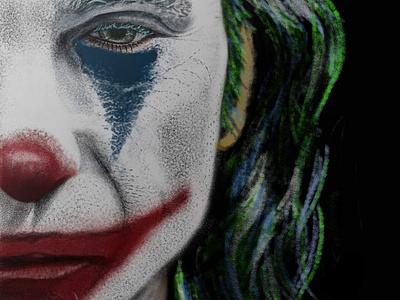 The Joker digital sketch digital art digitalart autodesk sketchbook joker
