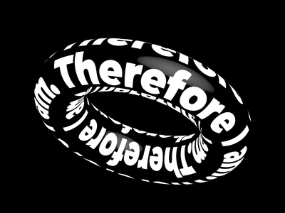 Typography poster - day 4 3d blackandwhite typography illustrator vector