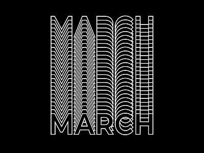 Typography- Blended text illustrator blackandwhite typography vector illustration