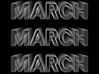 Typography - blend blackandwhite illustrator typography vector illustration