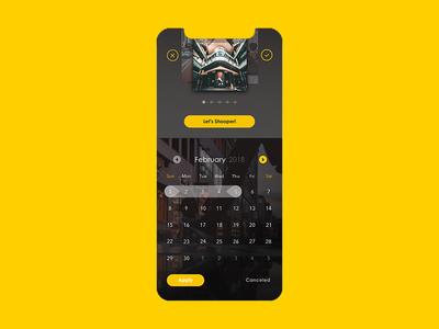 Date Picker - UI Ninja Challenge #1