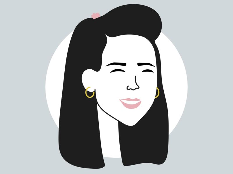 Personal Avatar - UI Ninja Challenge #2 avatar vector self portrait visual design design illustration