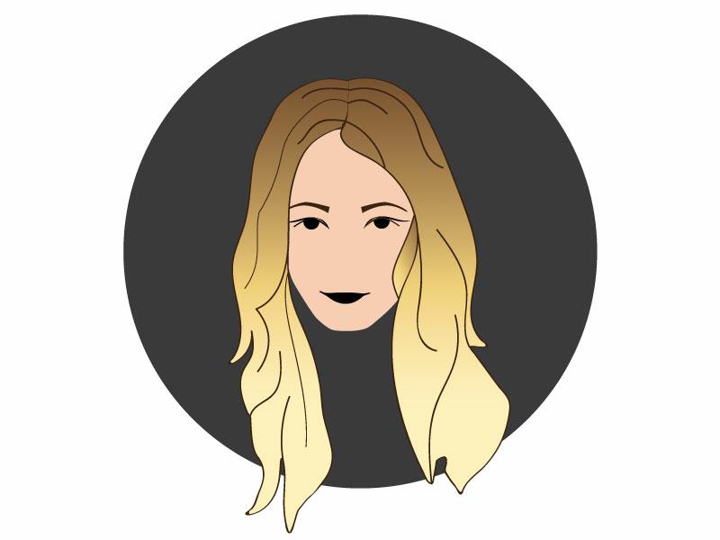 Personal Avatar - UI Ninja Challenge #2 self portrait avatar visual design design illustration vector