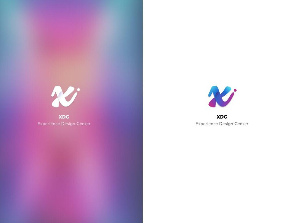 XDC Logo- UI Ninja Challenge #4 typography branding logo design vector