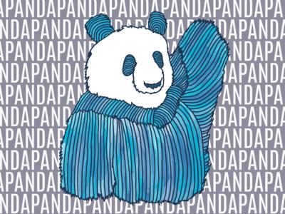 Panda 1 in Blue