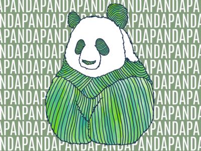 Panda 2 in Green