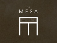 Branding for The Mesa by Cismontane Brewing Co.