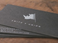 Smith x Union Business Cards