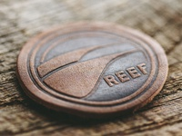 Reef Swell Lines Shoulder Patch