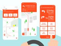 Mobile Navigation App for Drivers
