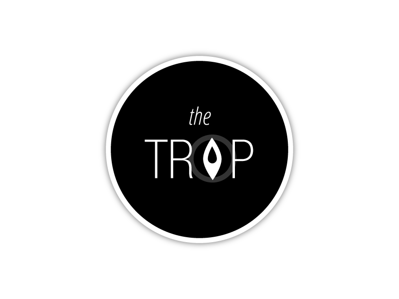 the Trip Logo logo flat locate trip flat design