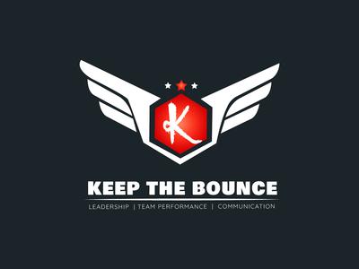 keep the bounce logo