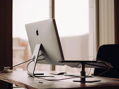 Desk & Workspace desk workspace table apple monitor montreal