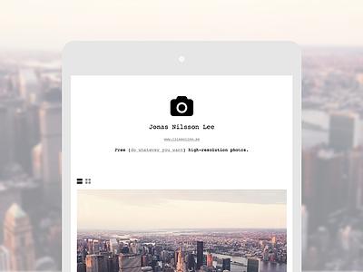 Unsplash — Profiles unsplash profiles feature monospaced