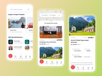Travel Destination Booking App uiux ux ui destination traveller vacation travelling rent travel app travel hotel booking booking reservation