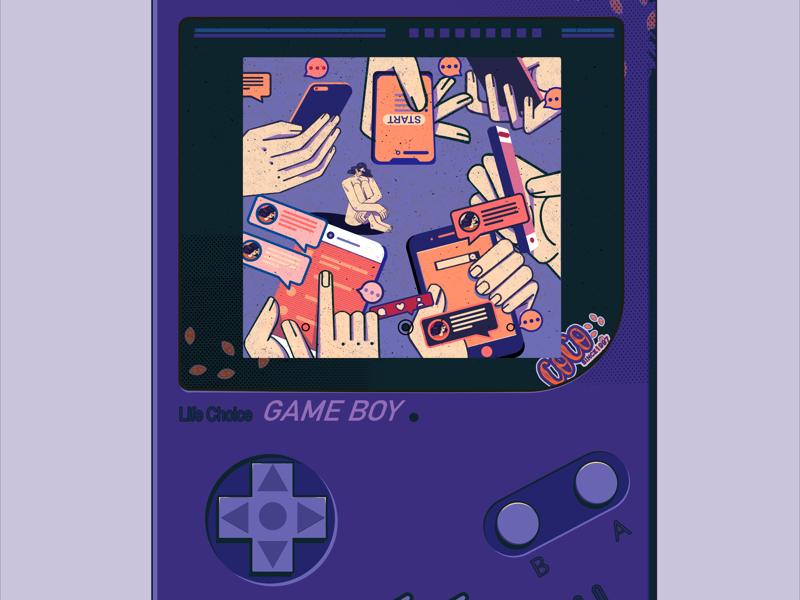 Game Boy illustration