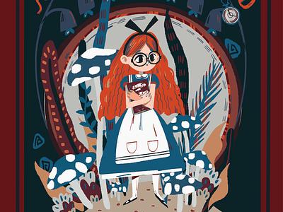 Alice book cover2 illustration