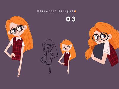 Character Design0304 illustration