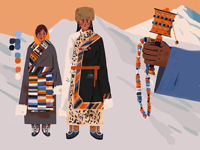 Tibet2 illustration