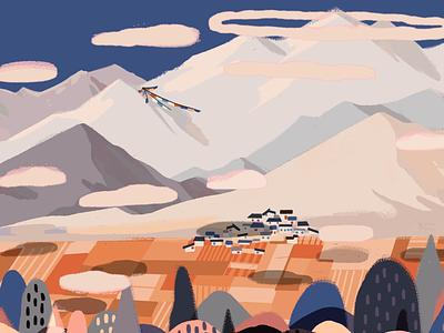 Tibet3 illustration