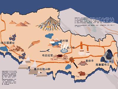 Tibet4 illustration