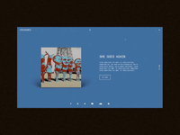 Krainz  - Vertical Slider Homepage