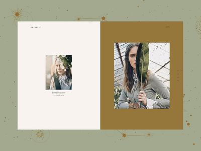 La Comète - Split Showcase warm posh elegant woocommerce ecommerce template portfolio ux ui wordpress design
