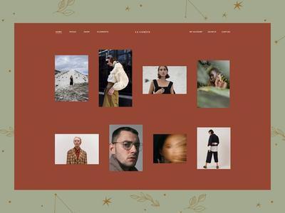 Shop Minimal editorial soft minimal sophisticated elegant stylish ecommerce ui ux wordpress design