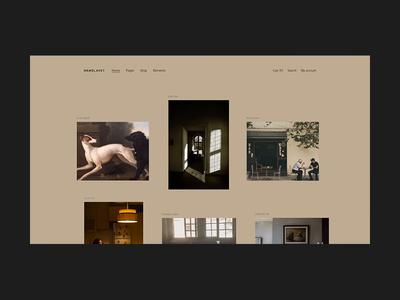 Håndlavet - minimal product gallery