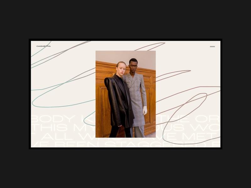 Fashion website moodboard mood concept drawing webdesig portfolio creative ux ui design